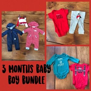3 Months Baby Boy Bundle